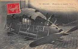 CPA - Aux Invalides - Accessoires Du Zeppelin - Dirigibili