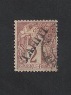Faux Tahiti N° 8, 2 C Alphée Dubois Oblitéré - Oblitérés