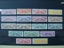SAN MARINO 1945-46 PACCHI POSTALI SERIE COMPLETA NUOVA ** MNH N. 16-32 CAT. € 180,00 - San Marino