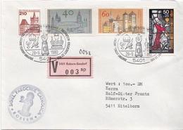 Postal History: Germany V Cover With Kobern-Gondorf Cancel - [7] Federal Republic
