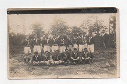 Mimizan ( Ou Alentours). Equipe De Rugby. Carte Photo Sans Editeur. - Mimizan