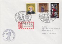 Postal History: Germany R Cover With Kobern-Gondorf Cancel - [7] Federal Republic