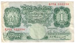 Great Britain 1 Pound 1948 - …-1952 : Ante Elizabeth II