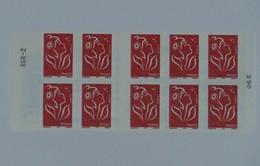 3744-C 10  Carnet 10 Timbres Marianne De LAMOUCHE - Libretas