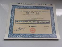 SO VA CO Société Laitiere De La Vallée De Couesnon (marcillé Raoul,ille Et Vilaine) - Shareholdings