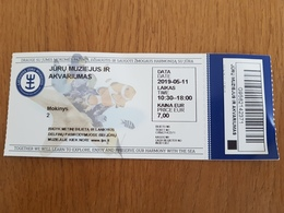 Ticket Lithuania Sea Museum City Klaipeda - Tickets - Vouchers