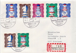 Postal History: Germany R Cover With Kobern-Gondorf Chess Cancel - Chess