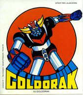Autocollant Sticker Goldorak Offert Par L'Alsacienne - Autocollants