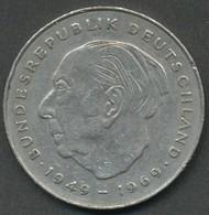 2 Deutsche Mark D 1977 Bundesrepublik  Deutschland - [ 7] 1949-…: BRD