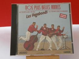 Les Vagabonds Le Temps Des Yéyés & Le Temps Des Copains - (Titres Sur Photos) - CD - Rock