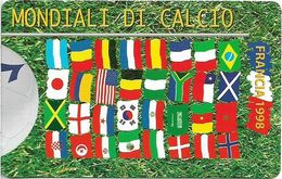 San Marino - France '98 - Flags - 2.000L, 38.000ex, 05.1998, Mint - San Marino