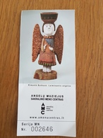 Ticket Lithuania Angels Museum City Anyksciai - Tickets - Entradas
