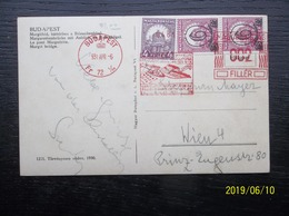Hungary: 1931 PPC To Wien (#HR5) - Hungary