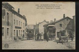 Saint Bonnet Le Froid Arret Des Voitures De La Louvesc (diligences) - France