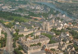 CAEN : Vue Aérienne N°7  Années 70 - Caen