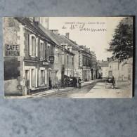 CPA-89-LEUGNY-Centre Du Pays-Café Baron-Maréchal Ferrant - Sonstige Gemeinden