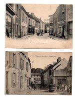 Villepreux. Grande Rue. Route Vicinale. 2 Cp. - Villepreux