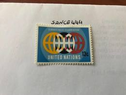 United Nations New York Racial Harmony 13c Mnh 1971 - New York – UN Headquarters