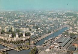 CAEN : Vue Aérienne N°10  Années 70 - Caen