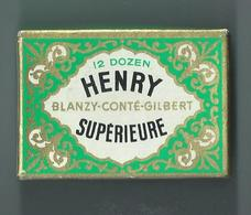 PLUMES HENRY Supérieur 144 Plumes -Non Ouverte - Federn