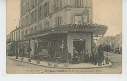 """PARIS - XVème Arrondissement - Café """"AU BON VIN """" , MAISON JULES POIRIER , Boulevard Garibaldi - Arrondissement: 15"""