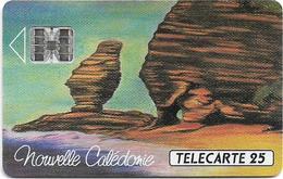 New Caledonia - OPT - Le Bonhomme De Bourail - 11.1992, SC7, 25Units, 20.000ex, Used - New Caledonia