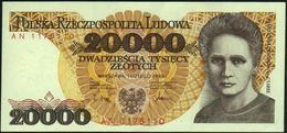 POLAND - 20.000 Zlotych 01.02.1989 {Narodowy Bank Polski} AU-UNC P.152 - Pologne