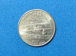 UNITED STATES OF AMERICA USA QUARTER DOLLAR 2001 D NORTH CAROLINA - Emissioni Federali
