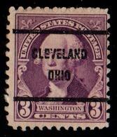 "USA Precancel Vorausentwertung Preo, Locals ""CLEVELAND"" (OHIO). - United States"
