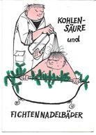 """3080h: AK """"Kohlensäure Und Fichtennadelbäder"""", Gest. Schärding 1969 - Pubblicitari"""