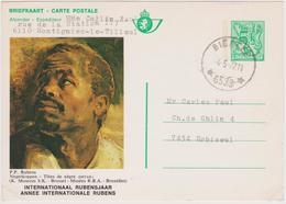 Année Internationale Rubens / Obl. Relais  BIERCEE - Stamped Stationery
