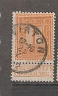 COB 108 Oblitération Centrale VIRTON - 1912 Pellens