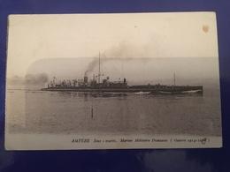 Ancienne Carte Postale - Sous-marin. Marine Militaire Française - Sous-marins