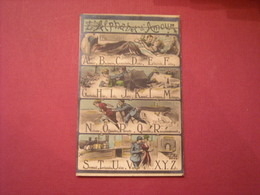 Carte Postale Humoristique , L'Alphabet D'Amour Du Poilu , 1914-1918 - Humoristiques