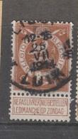 COB 109 Oblitération Centrale LIEGE 1B - 1912 Pellens