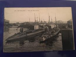 Ancienne Carte Postale - La Pallice Poste Des Sous-marins - Sous-marins