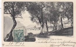 MALCESINE-VERONA-LAGO DI GARDA-CARTOLINA VIAGGIATA IL 28-6-1902 - Verona