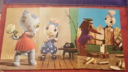 Dachshund - Dachshound - Teckel - Dackel - Bassotto -  Hungary Puppet Cica Mica Ca 1966 --babterv Brody Vera - Dogs