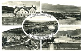 INVERNESS - KINGUSSIE - 5 RP VIEWS Inv53 - Inverness-shire