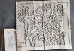 1789 Carte Des Alpes Rare - Mapas Geográficas