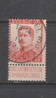 COB 118 Oblitération Centrale BRUXELLES 3C - 1912 Pellens