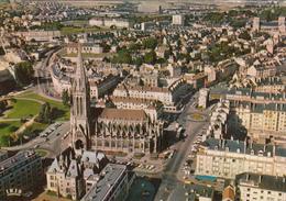 CAEN : Vue Aérienne N°17  Années 70 - Caen