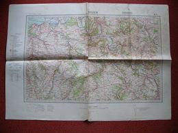 Carte Armée Allemande WWII Normandie Rouen Evreux Honfleur Lisieux Les Andelys Bernay Pont Audemer Pont L'Eveque Gisors - 1939-45