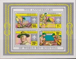 Tanzania - 1982, BOY SCOUT MNH - Nuovi