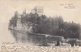 ISOLA DI GARDA-BRESCIA-LAGO DI GARDA-CARTOLINA VIAGGIATA IL 29-3-1908 - Brescia