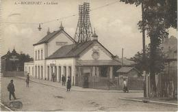 1. - ROCHEFORT : Le Gare - RARE VARIANTE - Cachet De La Poste 1925 - Rochefort