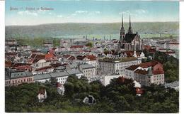 3080m: Farb- AK Brno- Pohled Se Spilberku (Festung Spielberg Bei Brünn) - Tschechische Republik
