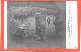 SALON D'HIVER 1912 - La Mort De Galope Chopine (Chouans De BALZAC) RENARD-BRAULT - Peintures & Tableaux