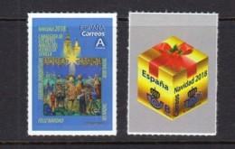 30.- SPAIN 2018 CHRISTMAS - 1931-Hoy: 2ª República - ... Juan Carlos I