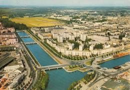 CAEN : Vue Aérienne N°25  Années 70 - Caen